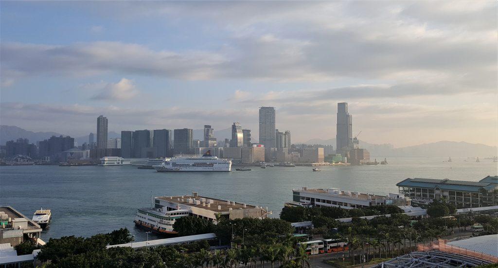 Der Hafen von Hongkong